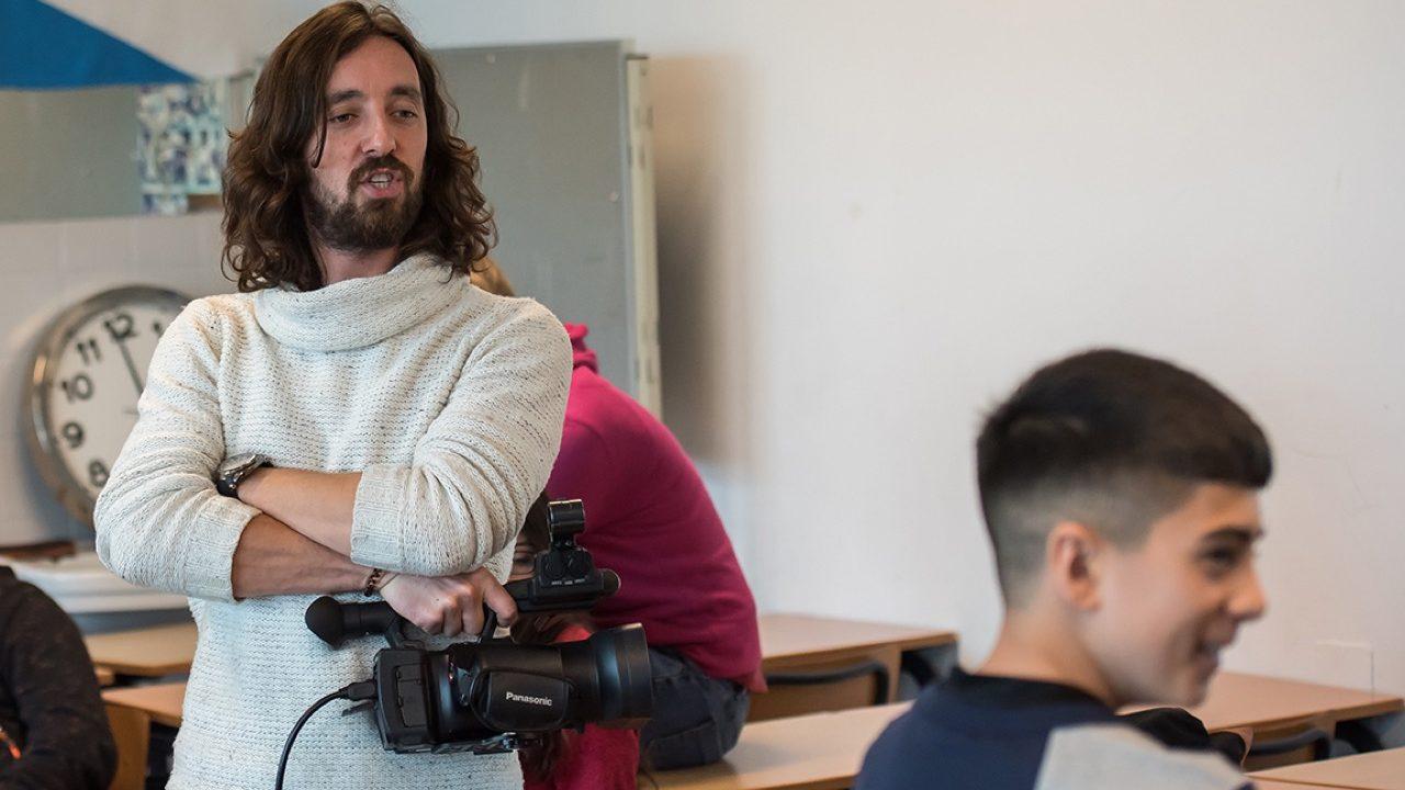 Workshop school onderwijs Filmacteren