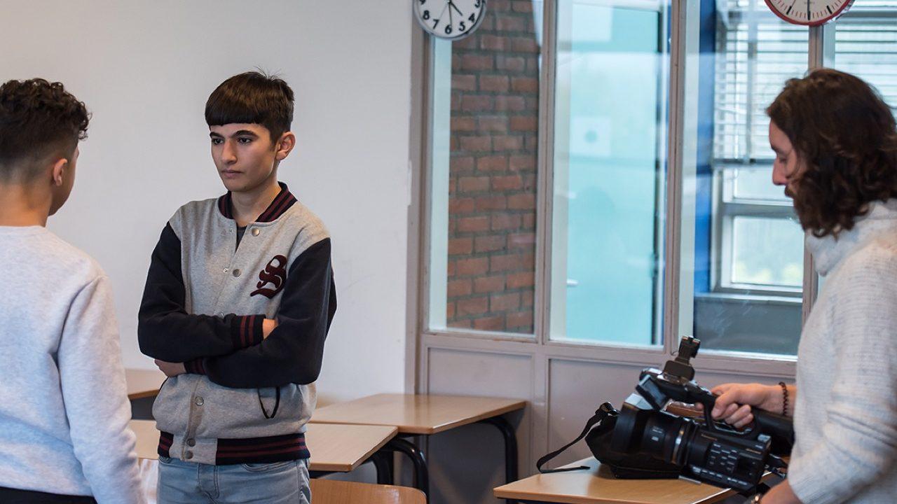 Workshop school onderwijs Filmacteren 4