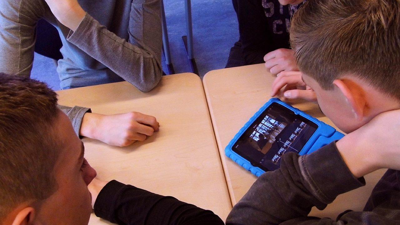 Workshop school onderwijs Filmtechniek 2