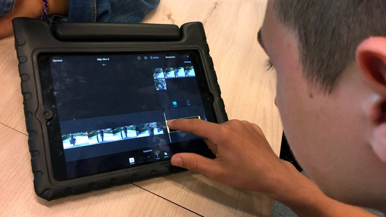 Workshop school onderwijs Filmtechniek 3