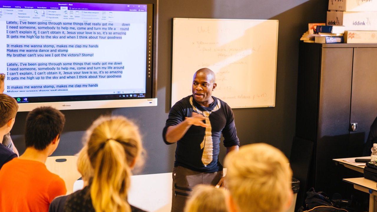 Workshop school onderwijs Gospel 10
