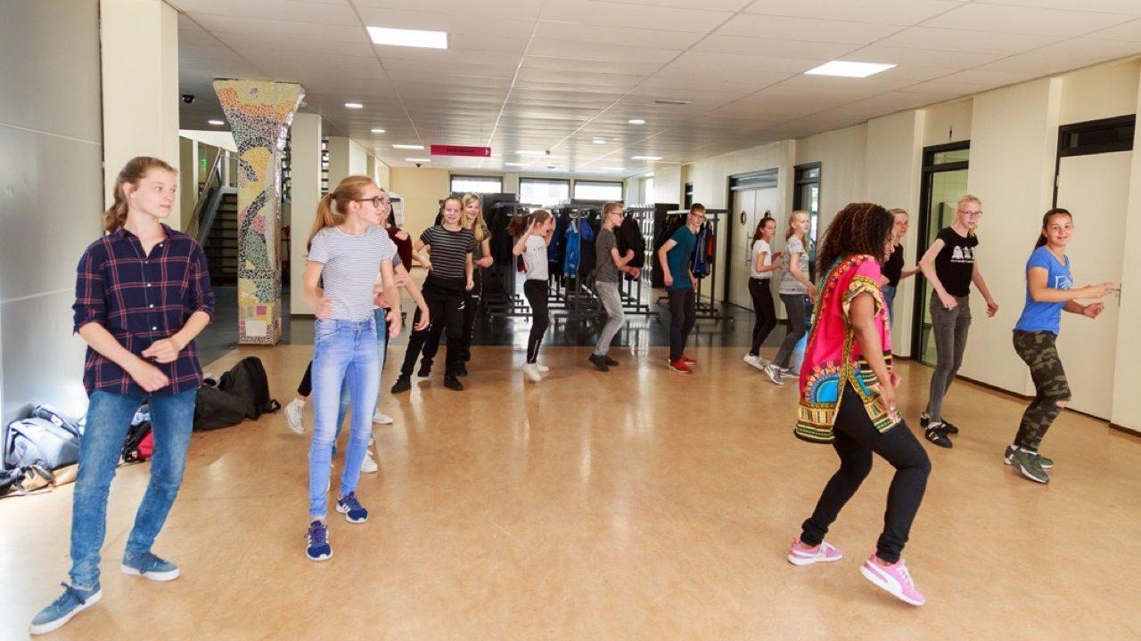 Workshop school onderwijs Hiphopdance