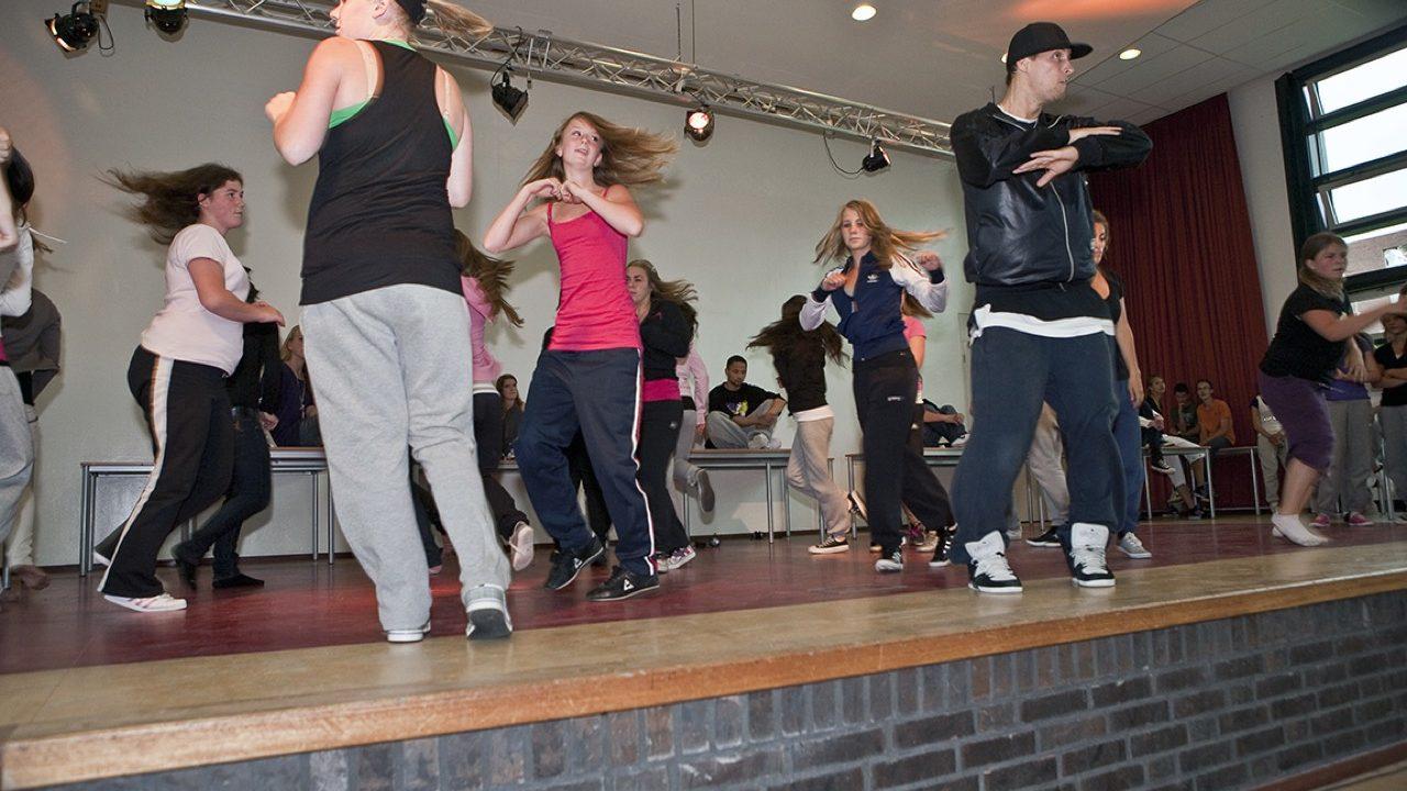 Workshop school onderwijs Hiphopdance 9