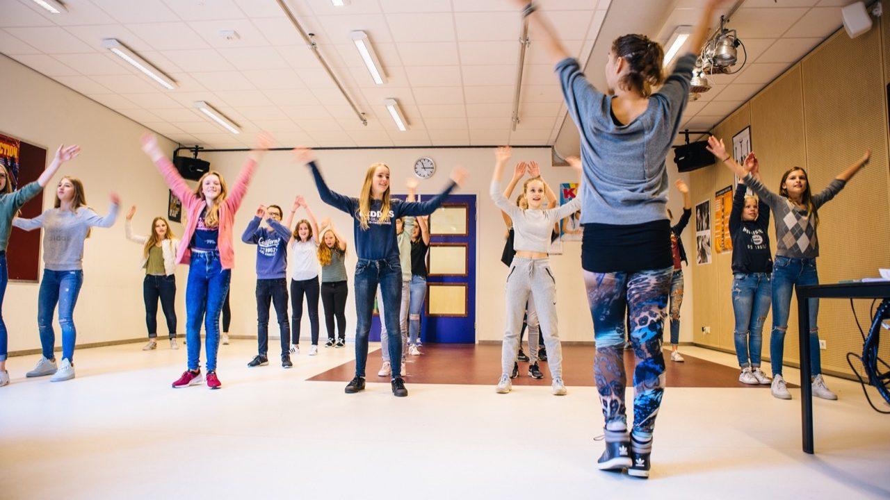 Workshop school onderwijs Moderne Dans 2