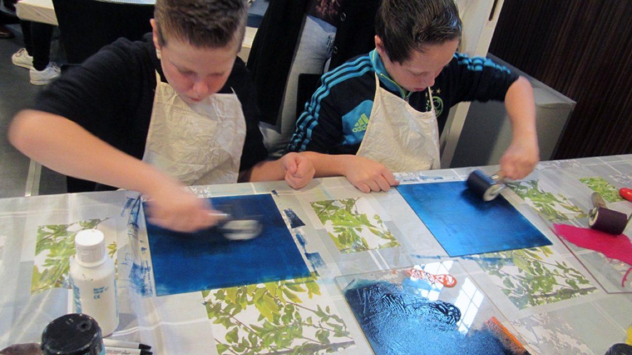 Workshop school onderwijs Monotype Design 4
