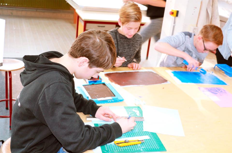 Workshop school onderwijs Monotype Design 6