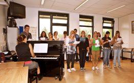 Workshop school onderwijs Musical zingen