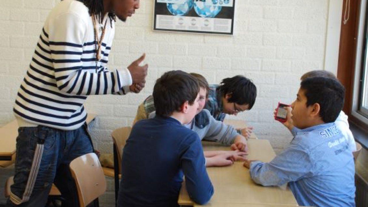 Workshop school onderwijs Rap 12