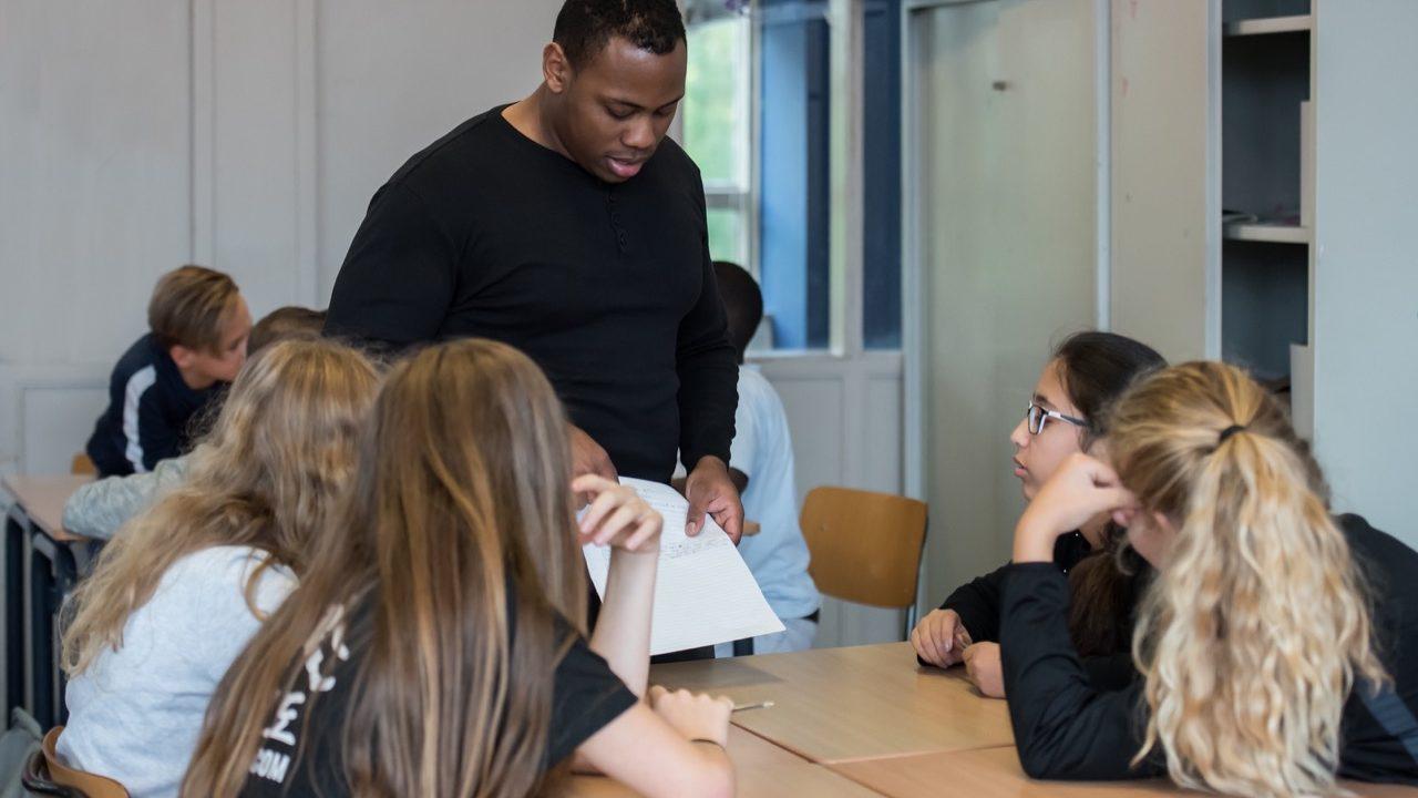 Workshop school onderwijs Rap