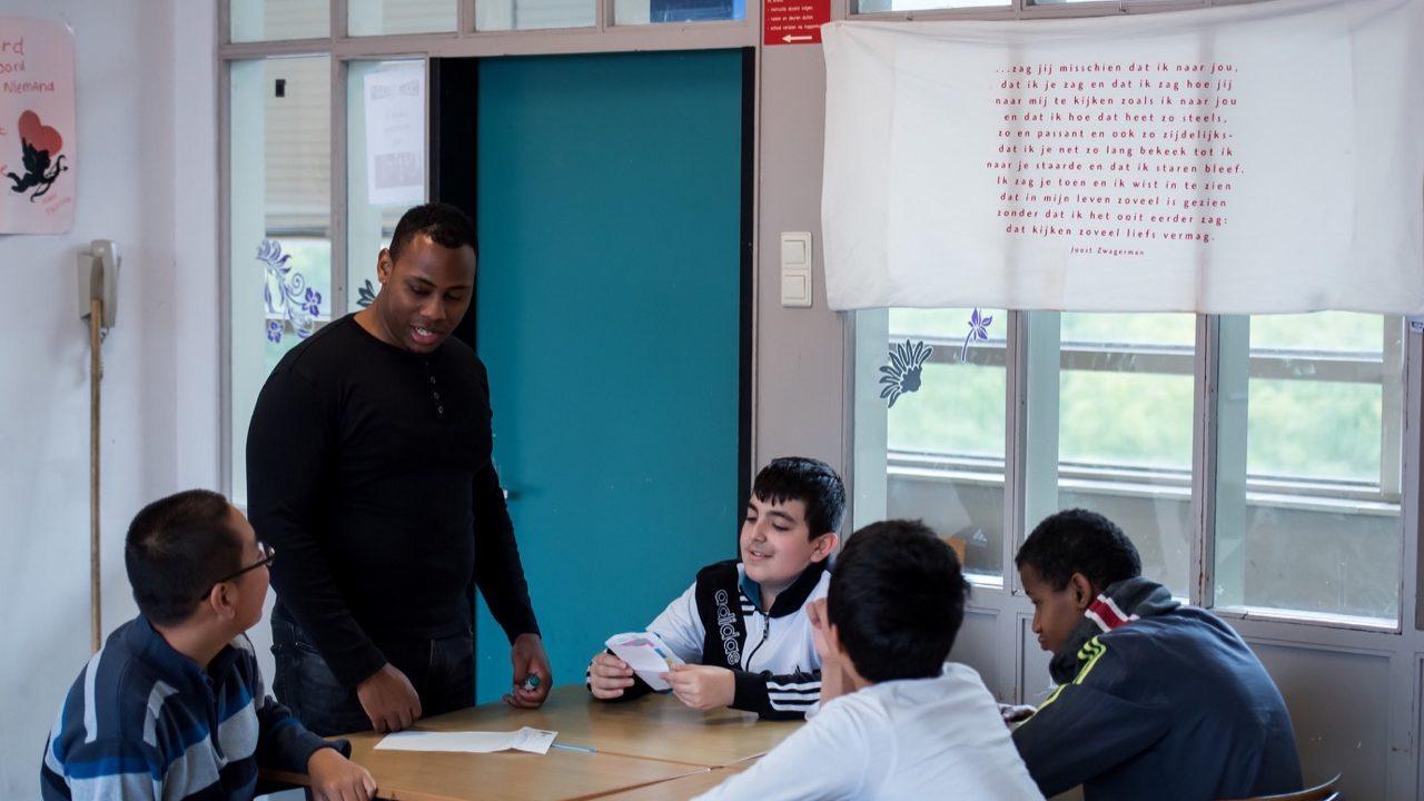 Workshop school onderwijs Rap 6