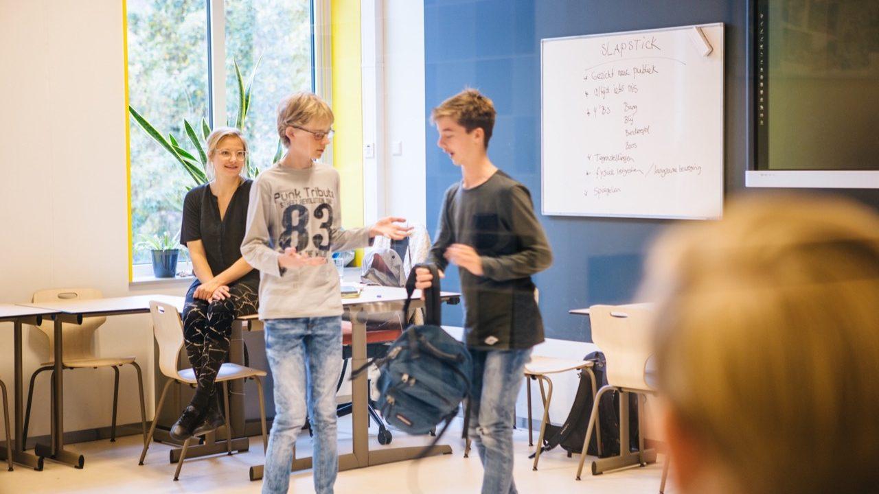 Workshop school onderwijs Slapstick