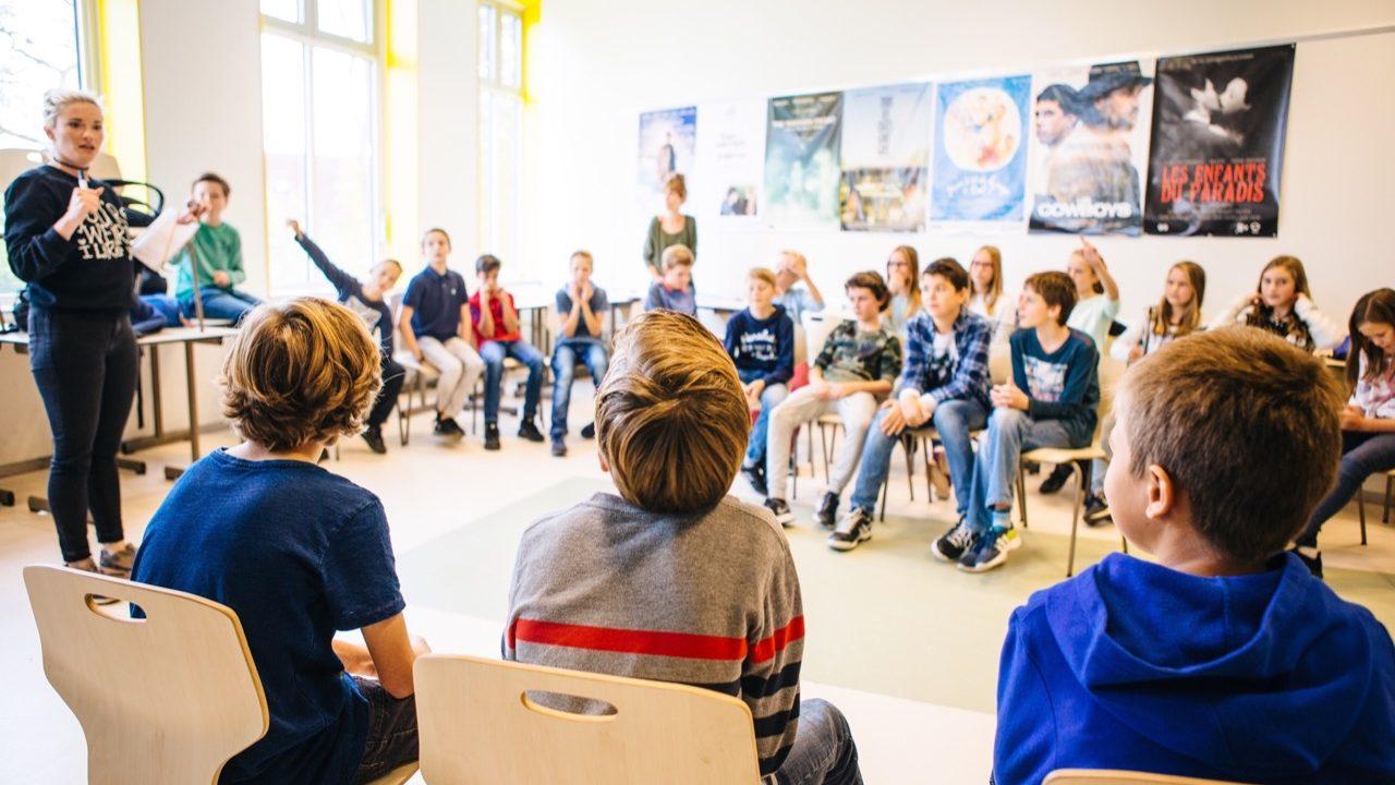 Workshop school onderwijs Slapstick 16