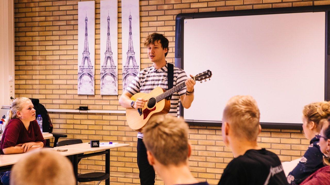 Workshop school onderwijs Songwriting