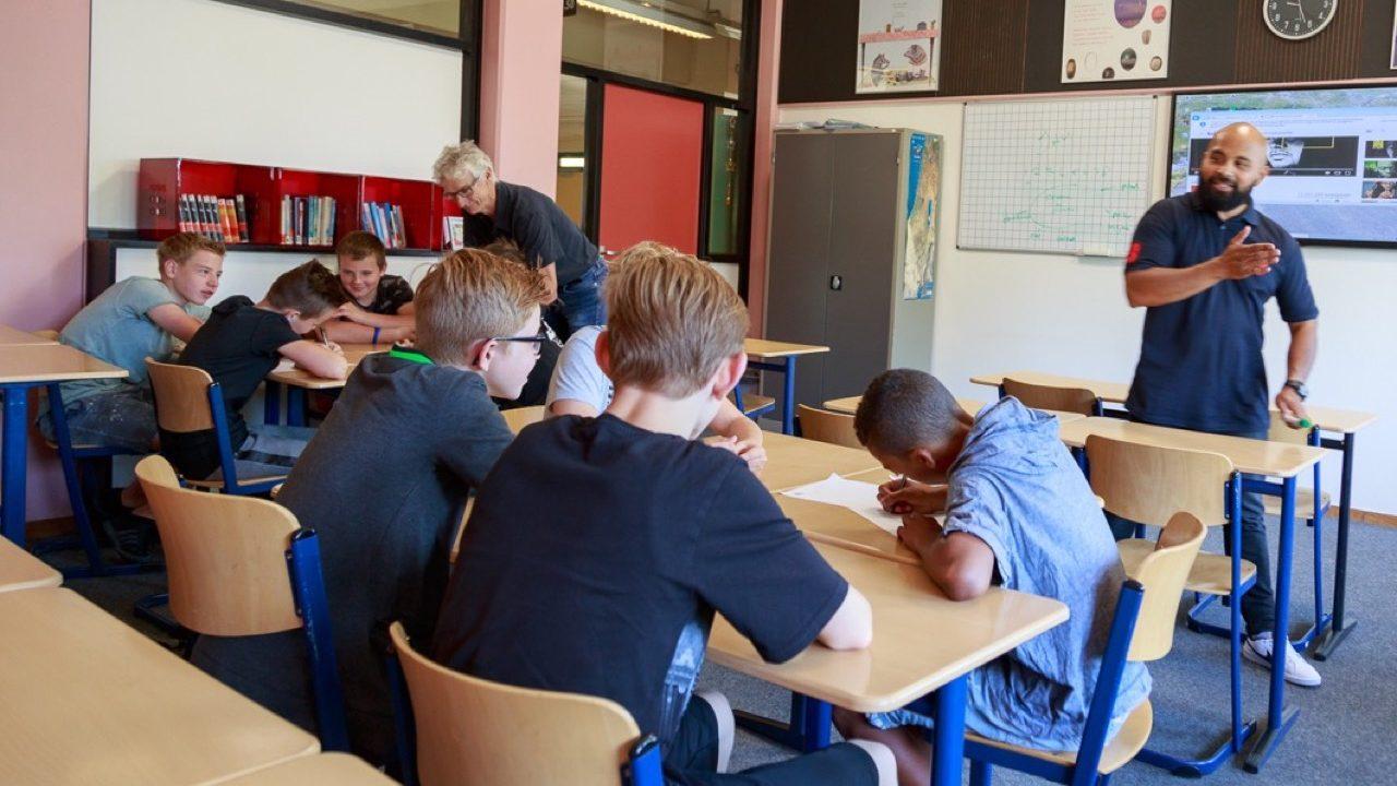 Workshop school onderwijs Spoken word