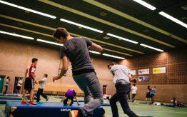 Workshop school onderwijs Stage Fighting