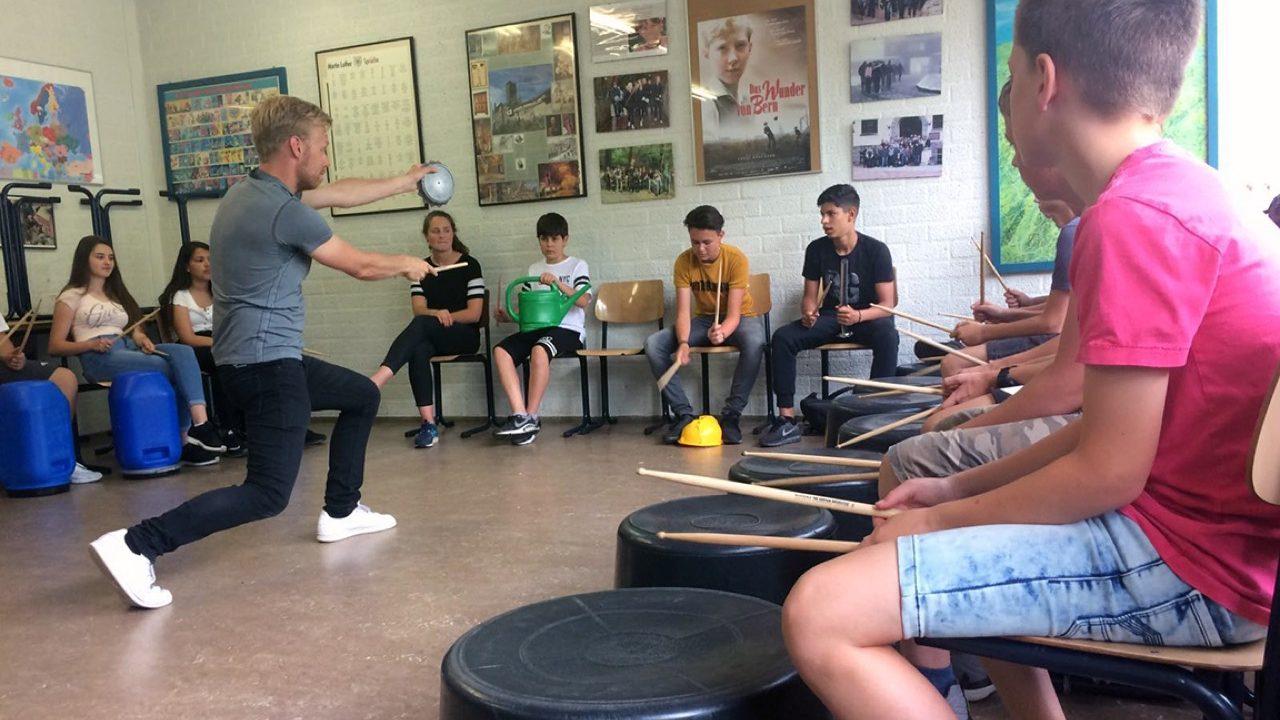 Workshop school onderwijs Streetbeats