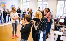 Workshop school onderwijs Theatersport 16