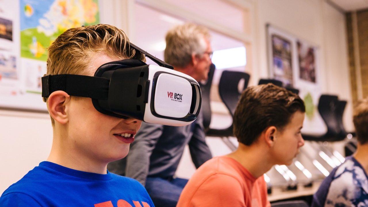 Workshop school onderwijs Virtual Reality