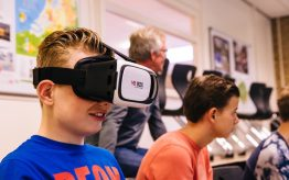 Workshop school onderwijs Virtual Reality