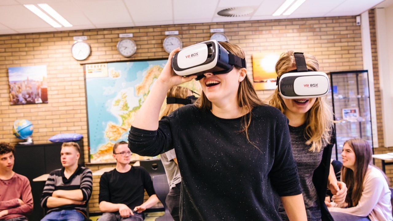 Workshop school onderwijs Virtual Reality 3