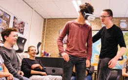 Workshop school onderwijs Virtual Reality 4