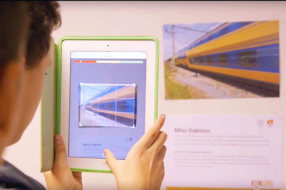 Workshop school onderwijs augmented reality 3