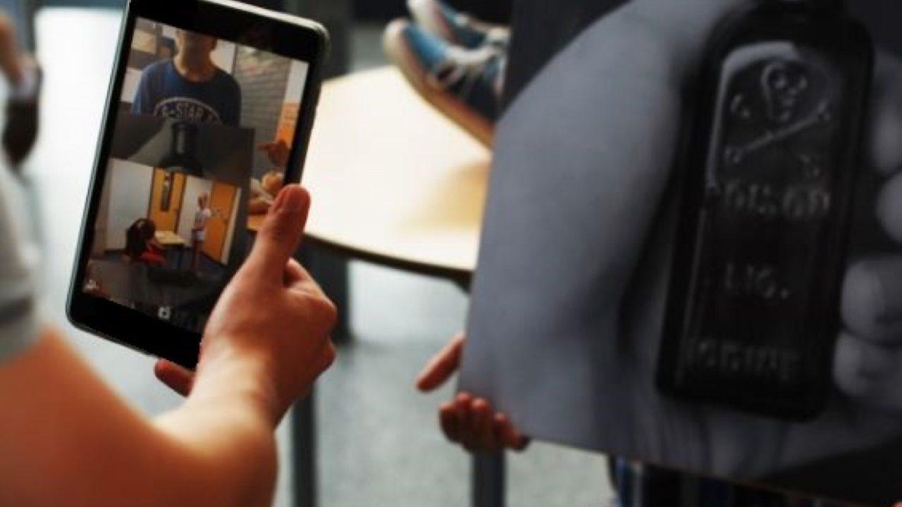 Workshop school onderwijs augmented reality 5
