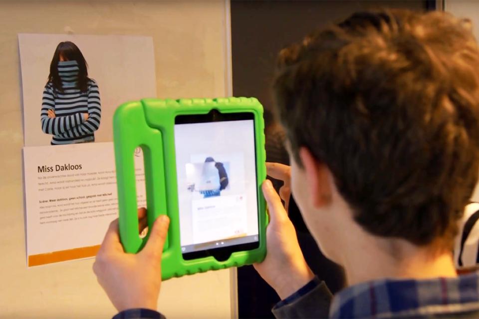 Workshop school onderwijs augmented reality
