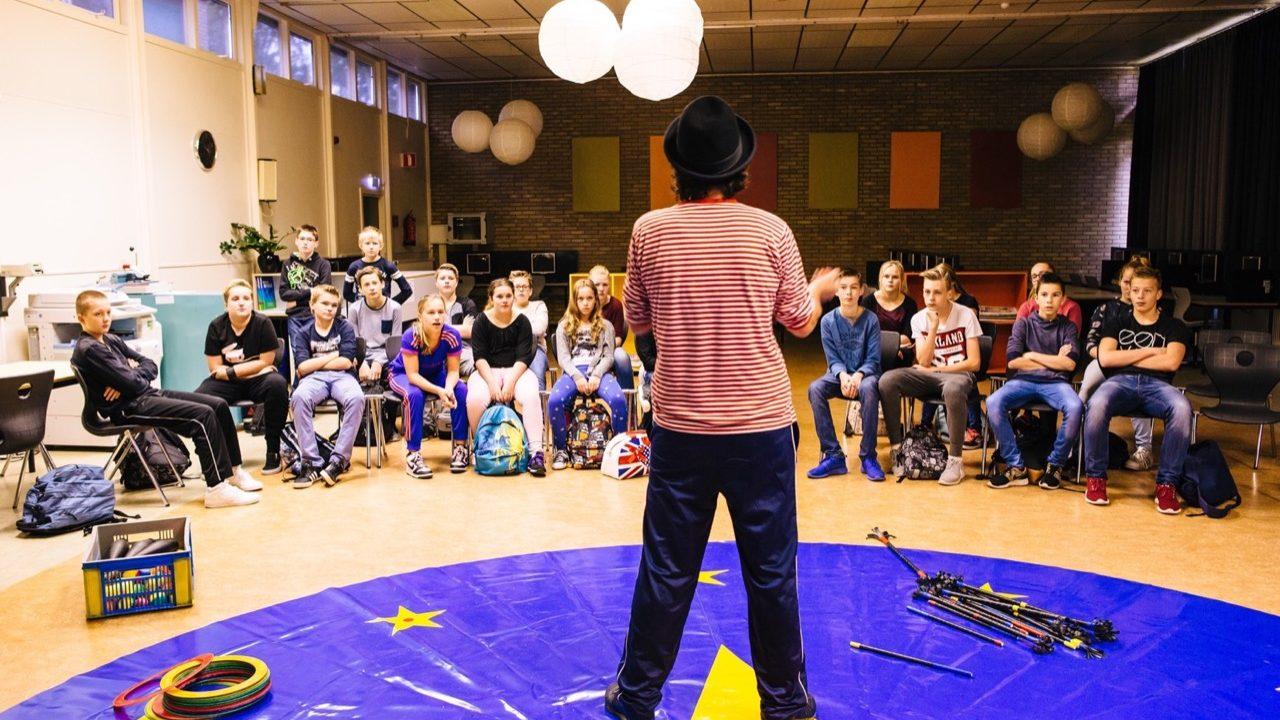 Workshop school onderwijs circus