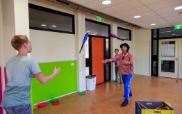 Workshop school onderwijs jongleren 3