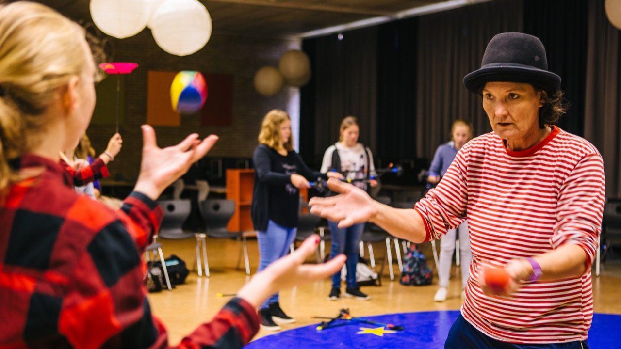 Workshop school onderwijs jongleren 7