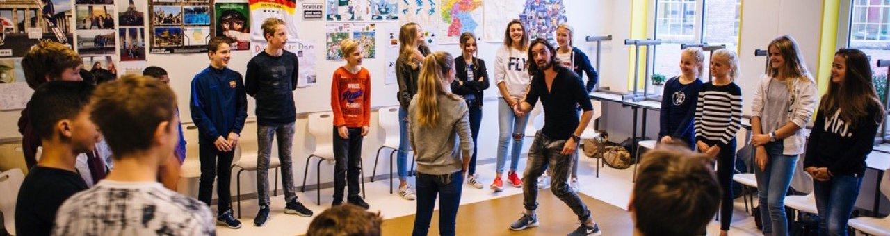 Workshops en voorstellingen op school 2