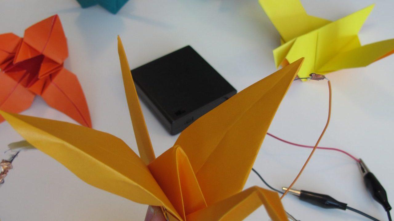 Workshop school Robotische Origami