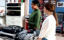 Workshop school onderwijs DJ techniek