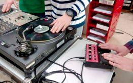 Workshop school onderwijs DJ techniek 3