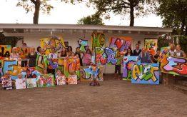 Workshop school onderwijs Graffiti Tags