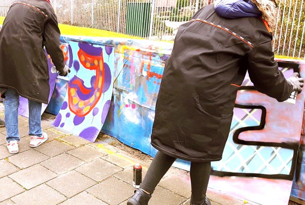 Workshop school onderwijs Graffiti Tags 3