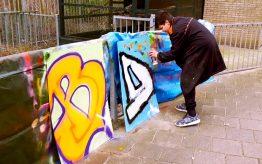 Workshop school onderwijs Graffiti Tags 4