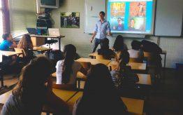 Workshop school onderwijs Vloggen 9