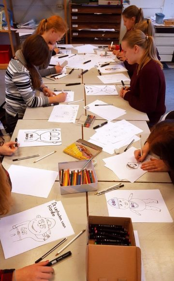 Thema-vrijheid-cartoontekenen-workshop-school-2