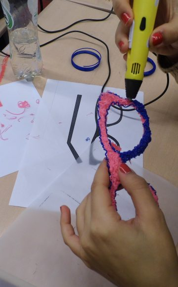 workshop 3d pen tekenen